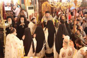 Πανηγυρικός Εσπερινός για την Αγία Φωτεινή στη Νέα Σμύρνη (ΦΩΤΟ)