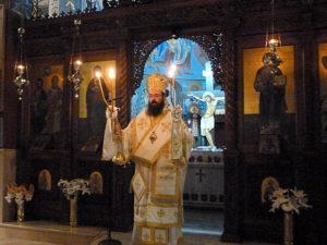 Κρήτη: Ιερά Αγρυπνία επί τη Εορτή της Μεσοπεντηκοστής στον Αγιο Νικόλαο (ΦΩΤΟ)