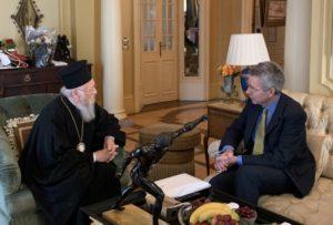 Συνάντηση Βαρθολομαίου-Πάιατ και συζήτηση για σειρά θεμάτων