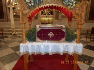 Ι.Μ. Χίου: Αρχιερατική Θεία Λειτουργία επί των Ιερών Λειψάνων του Αγίου Ισιδώρου