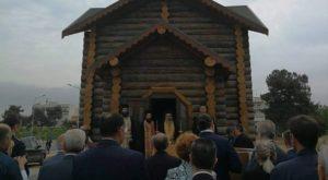 Εσπερινός στο ξύλινο Παρεκκλήσιο των Ρώσων Αγίων στην Αλεξανδρούπολη