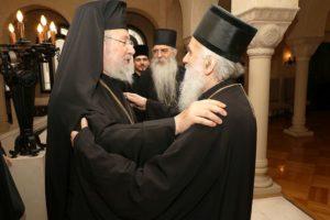 Στη Σερβία ο Κύπρου Χρυσόστομος για το ουκρανικό