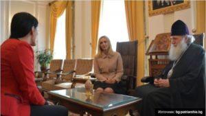Συνάντηση του Βουλγαρίας Νεόφυτου με την Αλβανίδα Πρέσβη