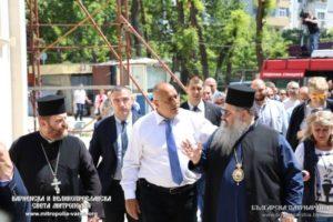 Ο Βούλγαρος πρωθυπουργός σε νεόδμητο Ναό του Αγίου Πορφυρίου