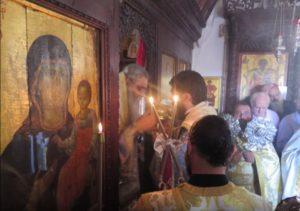 Το κήρυγμα του Μόρφου Νεοφύτου στην Ι.Μ. Αγίου Νικολάου στην Ορούντα