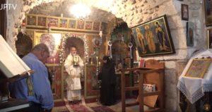 Ιεροσόλυμα: Θεία Λειτουργία στο Παρεκκλήσιο των Αγίων Πάντων Παναγίας Σεϊναδάγιας