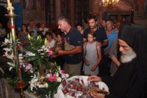 ΠΟΡΤΟ ΛΑΓΟΣ : Πάνω από 30.000 πιστοί στην Αγία Ζώνη