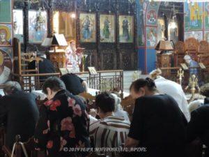 Άρτα: Η εορτή της Πεντηκοστής στον Ι. Ν. Αγίου Δημητρίου