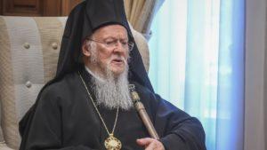 Ο Βαρθολομαίος έστειλε συγχαρητήριο μήνυμα στον Έλληνα Δήμαρχο της Πόλης