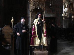 Ο Σμύρνης Βαρθολομαίος στην Ιερά Μονή Δουσίκου (ΦΩΤΟ)