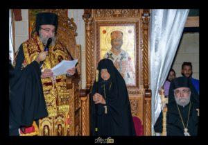 Κύπρος: Ενθρόνιση Ηγουμένης Ιεράς Μονής Παναγίας Παντανάσσης (ΦΩΤΟ)