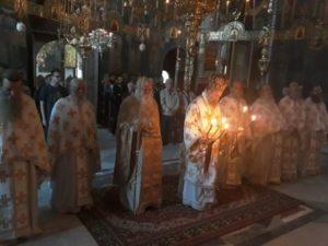 Ο Θεσσαλιώτιδος Τιμόθεος στην Ιερά Μονή Ξενοφώντος Αγίου Όρους (ΦΩΤΟ)