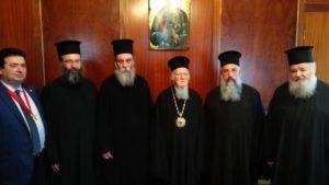 Ιεράρχες της Εκκλησίας της Κρήτης στο Οικουμενικό Πατριαρχείο (ΦΩΤΟ)