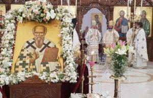 Εορτάστηκε λαμπρώς ο Άγιος Τύχωνας Πολιούχος της Επισκοπής Αμαθούντος (ΦΩΤΟ)