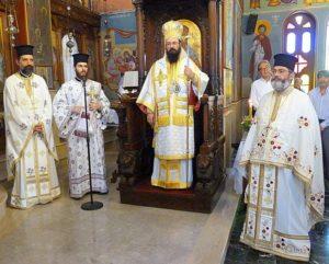 Η Εορτή της Αγίας Τριάδος και του Αγίου Πνεύματος στη Μητρόπολη Πέτρας (ΦΩΤΟ)