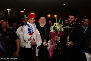 Ο Αρχιεπίσκοπος Ελπιδοφόρος στην Αμερική – Το μήνυμα στην ομογένεια