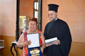 Βράβευση π. Αποστόλου Καβαλιώτη από τον Δήμο Καβάλας (ΦΩΤΟ)