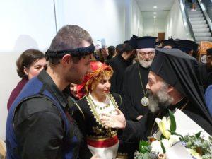 Θερμή υποδοχή στον Αρχιεπίσκοπο Αυστραλίας Μακάριο (ΒΙΝΤΕΟ & ΦΩΤΟ)