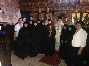 Ρασοφορία νέας Μοναχής στην Ανατολή Αγιάς (ΦΩΤΟ)