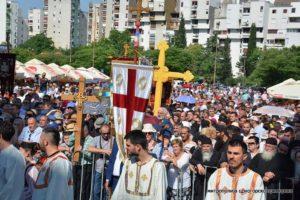 Λειτουργία στο Μαυροβούνιο για την υπεράσπιση της Εκκλησίας της Σερβίας