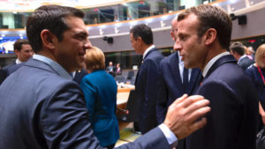Μακρόν: «Στέλνω και φρεγάτες στην Κύπρο»