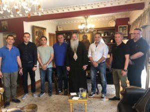 Με την Ομοσπονδία Λιμενικών συναντήθηκε ο Πειραιώς Σεραφείμ