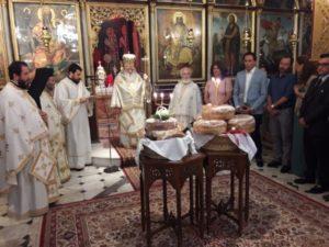 Εορτή του Αγίου Πνεύματος στο Αίγιο (ΦΩΤΟ)