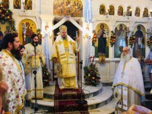 Εορτή του Αγίου Πνεύματος στη Μητρόπολη Λαρίσης (ΦΩΤΟ)