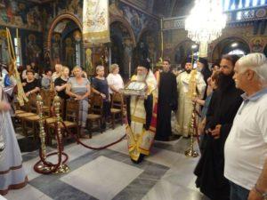 Κόρινθος: Υποδοχή Ιερών Λειψάνων (ΦΩΤΟ)