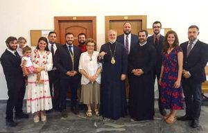 Συνάντηση του Αμερικής Ελπιδοφόρου με Ελληνες φοιτητές από τις ΗΠΑ