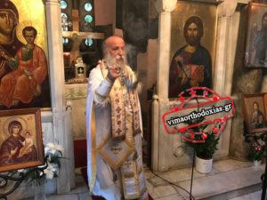 Με σεμνότητα τα ονομαστήρια του Γρεβενών Δαβίδ στη Μονή Πετράκη (ΒΙΝΤΕΟ & ΦΩΤΟ)