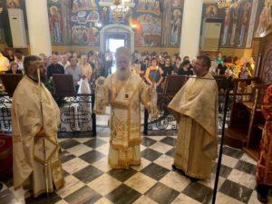 Ο Ιεραπύτνης Κύριλλος στην Αγία Αικατερίνη Σητείας (ΦΩΤΟ)