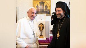 Ο Πάπας προς αντιπροσωπεία του Φαναρίου: «Περισσότερα αυτά που μας ενώνουν»