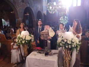 Ο ξεχωριστός γάμος που τέλεσε ο Κηφισίας Κύριλλος στο Λύρειο (ΦΩΤΟ)