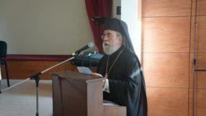 ΚΥΠΡΟΣ : Ο Μητροπολίτης Κιτίου παρέδωσε τον Θρόνο του -Η εκλογή του νέου