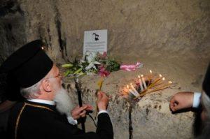 Ο Πατριάρχης στο ετήσιο προσκύνημα του στην Καππαδοκία