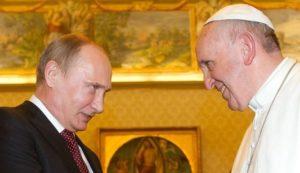 Συνάντηση Πούτιν-Πάπα στο Βατικανό
