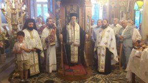 Ι.Μ.Καρυστίας: Ο Πανηγυρικός  Εσπερινός της Αγίας Τριάδος