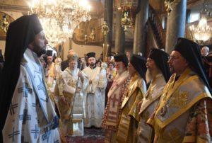 Κυριακή της Πεντηκοστής στο Οικουμενικό Πατριαρχείο (ΦΩΤΟ)