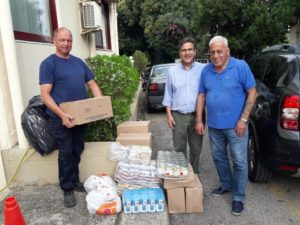 Ι.Μ.Καλαβρύτων: Δωρεά τροφίμων στο Αγάπης Μέλαθρον «Ο Άγιος Χαράλαμπος»