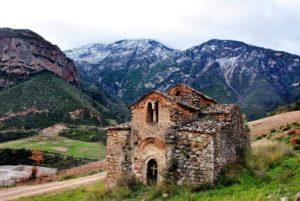 Ι.Μ.Καλαβρύτων: Εργασίες αναστήλωσης στον βυζαντινό ναό Αγίου Νικολάου