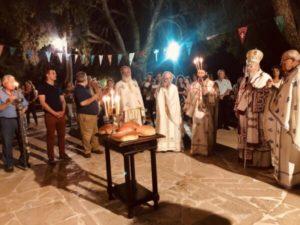 Ακρωτήρι Χανίων: Νυχτερινή Θεία Λειτουργία στον Προφήτη Ηλία