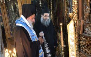 Αγιο Ορος: Τρισάγιο για τον μακαριστό Μητροπολίτη Θεσσαλονίκης Παντελεήμων (ΦΩΤΟ)