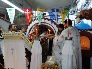 Ο Κεγχρεών Αγάπιος στη Μονή Αγίας Μαρίνας (ΦΩΤΟ)