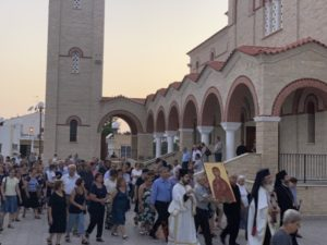 Κύπρος: Η εορτή της Αγίας Μαρίνας στην Κυθρέα
