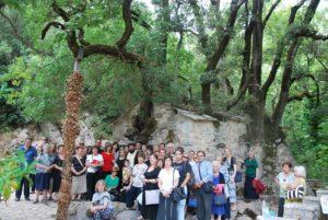 Προσκύνημα από την Λαμία στην Πελοπόννησο (ΦΩΤΟ)