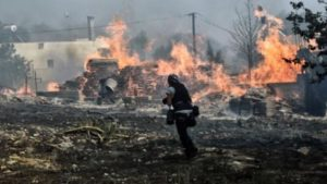 Ι.Μ.Μεσογαίας: Στήριξη στους ανθρώπους που επλήγησαν από τις πυρκαγιές