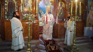 Ο Σμύρνης Βαρθολομαίος στη πανήγυρη της Αγίας Μαρίνας στο Καστέλλι