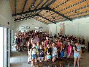 Η Μονή Βατοπαιδίου στηρίζει τις Κατασκηνώσεις της Ι.Μ. Κερκύρας