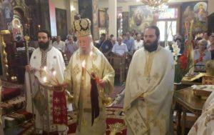 Λαμπρή εορτή Αγίου Νικοδήμου του Αγιορείτου στην Μητρόπολη Καρυστίας